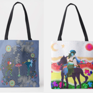 Dual Psychedelic bag